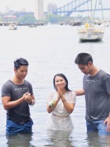 Jenny Baptism